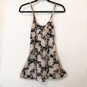 For Love & Lemons Floral Mini Dress